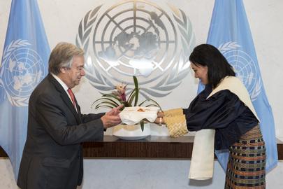 New Permanent Representative of Bhutan Presents Credentials