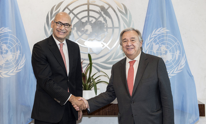 New Permanent Representative of Portugal Presents Credentials