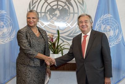 New Permanent Representative of Bahamas Presents Credentials