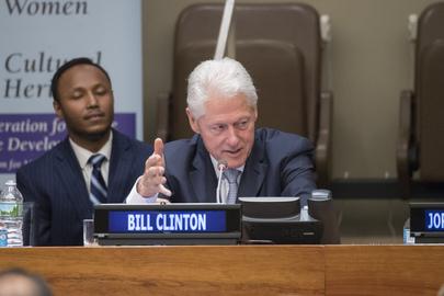 Bill Clinton Gives Keynote at Event on Hearing Health