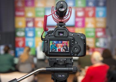 Deputy Secretary-General Visits SDG Media Zone