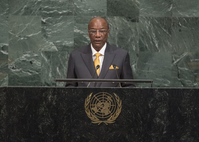 President of Guinea Addresses Seventy-second General Debate