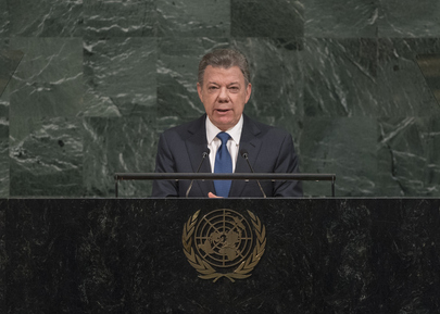 President of Colombia Addresses Seventy-second General Debate