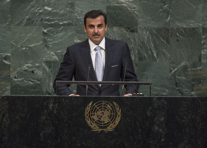 Amir of the State of Qatar Addresses General Assembly