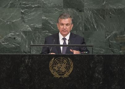 President of  Uzbekistan Addresses General Assembly