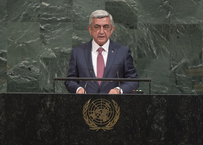 President of Armenia Addresses General Assembly