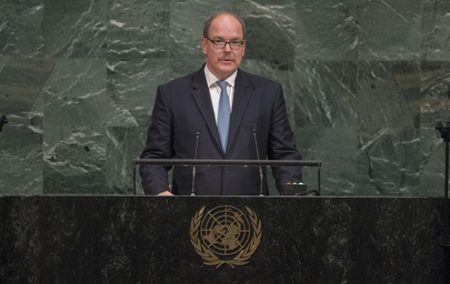 Prince of Monaco Addresses General Assembly