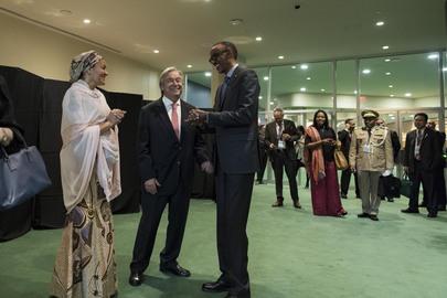 Secretary-General Hosts Welcoming Reception for Delegates