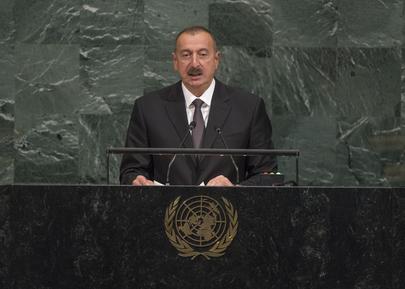 President of Azerbaijan Addresses General Assembly
