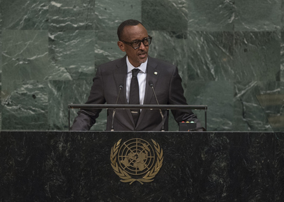 President of Rwanda Addresses General Assembly
