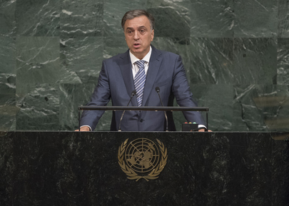 President of Montenegro Addresses General Assembly