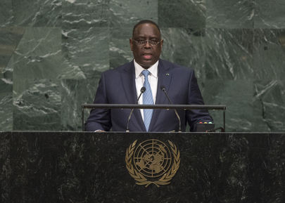 President of Senegal Addresses General Assembly