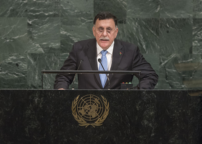 Head of Libyan Presidency Council Addresses General Assembly