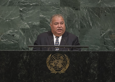 President of Nauru Addresses the General Assembly