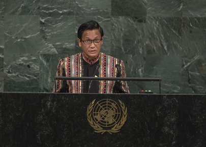 Vice President of Myanmar Addresses General Assembly