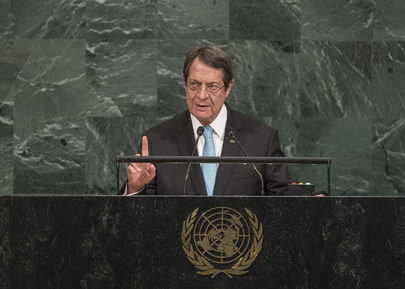 President of the Republic of Cyprus Addresses General Assembly