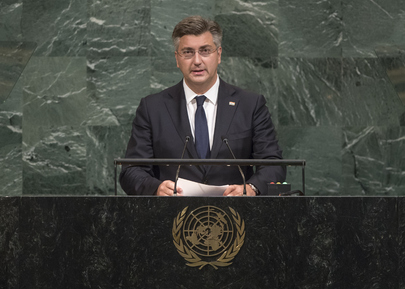 Prime Minister of Croatia Addresses General Assembly
