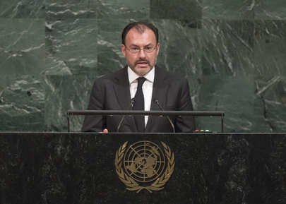 Foreign Minister of Mexico Addresses the General Assembly
