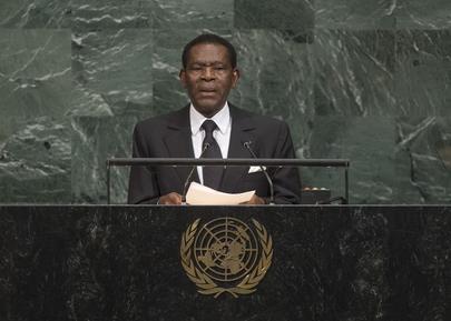 President of Equatorial Guinea Addresses General Assembly