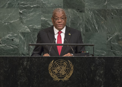 President of Sao Tome and Principe Addresses General Assembly