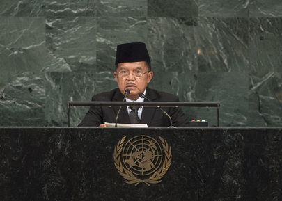 Vice-President of the Republic of Indonesia Addresses General Assembly