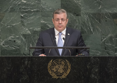 Prime Minister of Georgia Addresses General Assembly