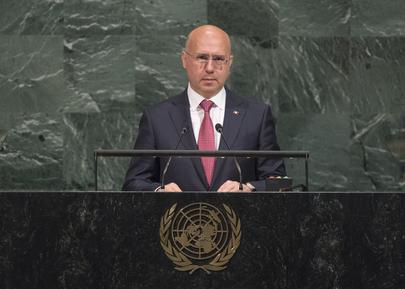 Prime Minister of Moldova Addresses General Assembly