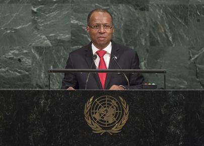 Prime Minister of Cabo Verde Addresses General Assembly