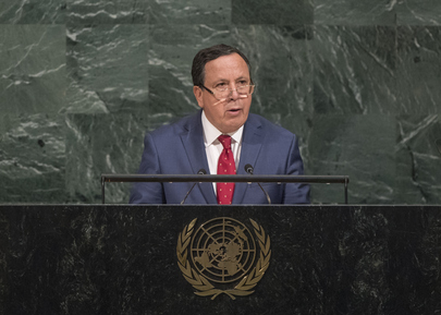 Foreign Minister of Tunisia Addresses General Assembly