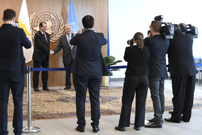 Secretary-General Meets President of Cyprus