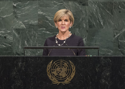 Foreign Minister of Australia Addresses General Assembly