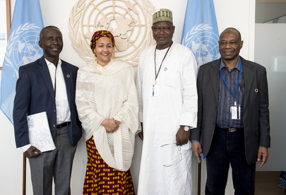 Deputy Secretary-General Meets Delegation from Ministry of Environment of Nigeria