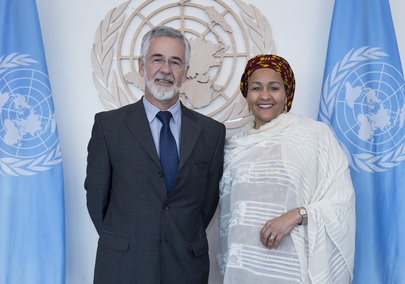 Deputy Secretary-General Meets Vice-Minister of Foreign Affairs of Brazil