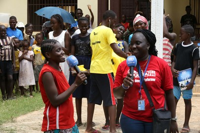 MINUSCA Works with Radio Station on Outreach Activities