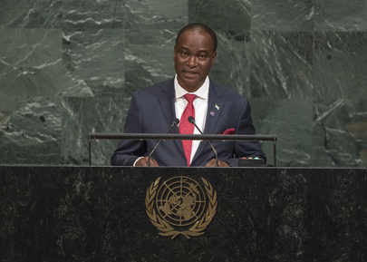 Foreign Minister of Sierra Leone Addresses General Assembly