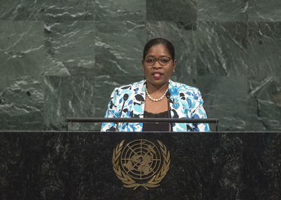 Foreign Minister of Suriname Addresses General Assembly