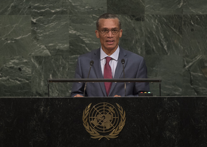 Foreign Minister of Trinidad and Tobago Addresses General Assembly