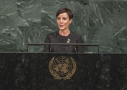 Foreign Minister of Jamaica Addresses General Assembly