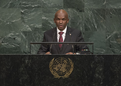 Foreign Minister of Burundi Addresses General Assembly