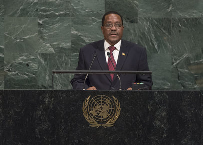 Permanent Representative of Mozambique Addresses General Assembly