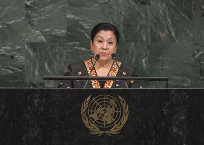 Permanent Representative of Turkmenistan Addresses General Assembly