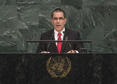 Foreign Minister of Venezuela Addresses General Assembly