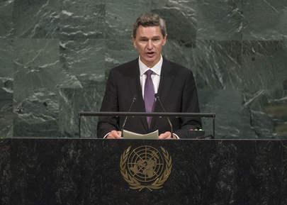 Permanent Representative of Norway Addresses General Assembly