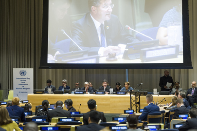 General Assembly Commemorates International Day for Total Elimination of Nuclear Weapons
