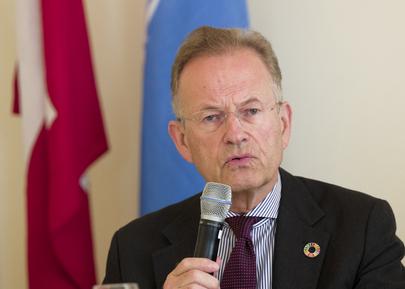 UNOG Director-General Briefs Press about Open Day