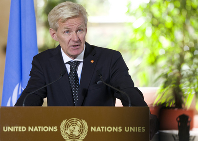 Special Advisor to UN Special Envoy on Syria Speaks to Press