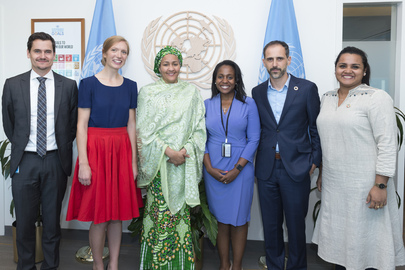 Deputy Secretary-General Meets Youth on UN Reform