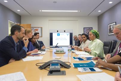 Deputy Secretary-General Meets Youth on UN Reform