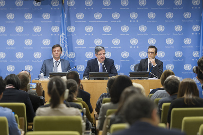 Security Council President Briefs Press on Programme of Work for October