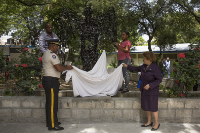 Peace Statue Unveiled in Haiti